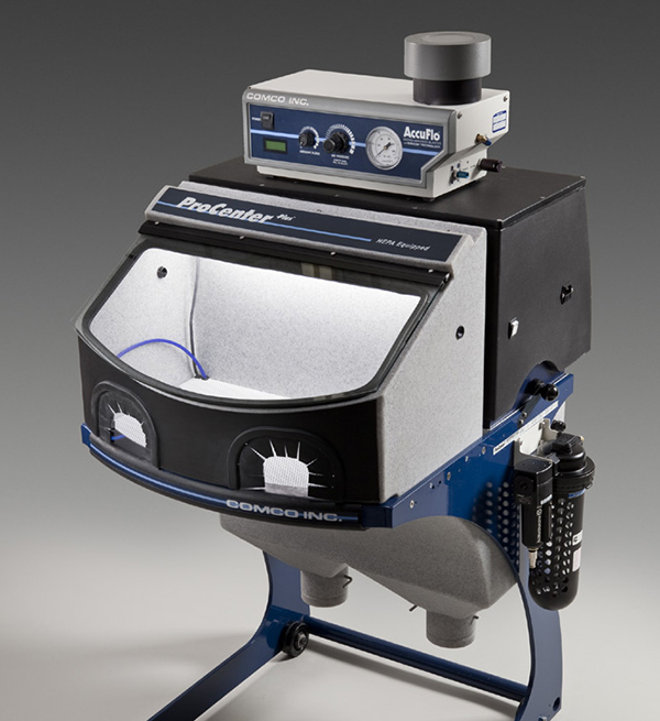 Comco ProCenter Abrasive Blasting Workstation