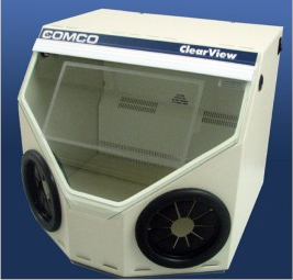 comco clearview ws6000 abrasive blast cabinet