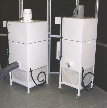FX30 and FX50 Dust Collector Extraction Units