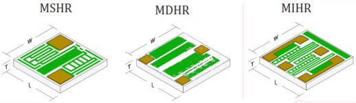 High Value Wire Bondable Chip Resistors from Mini-Systems