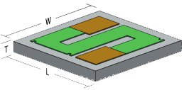Wire Bondable Chip Resistors from Mini-Systems