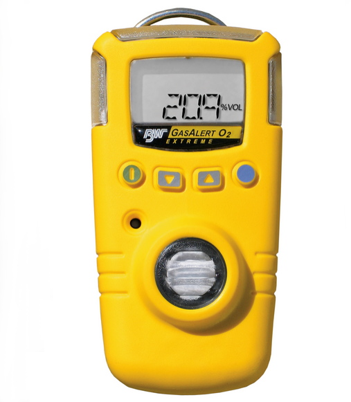 Ozone gas detection bades, alarm and test indicator strips