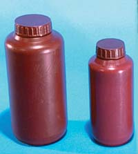 Wide mouth Polyethylene Bottles