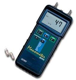 Heavy Duty Manometer - Pressure Measurement - mbar, psi, kg