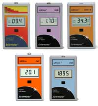 Solar Series Radiometers UV-A and UV-B and Outdoor Solar intensity