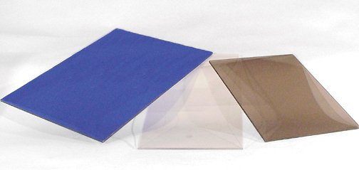 Rigid UV Filter Materials - sheets