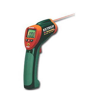 Temperature measurement, contact, non contat, IR and calibrated thermometers and test equipment